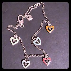 Brighton colorful heart bracelet